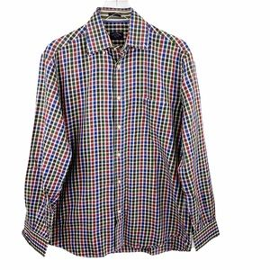 Paul & Shark Yachting Plaid Button Down 40/Med